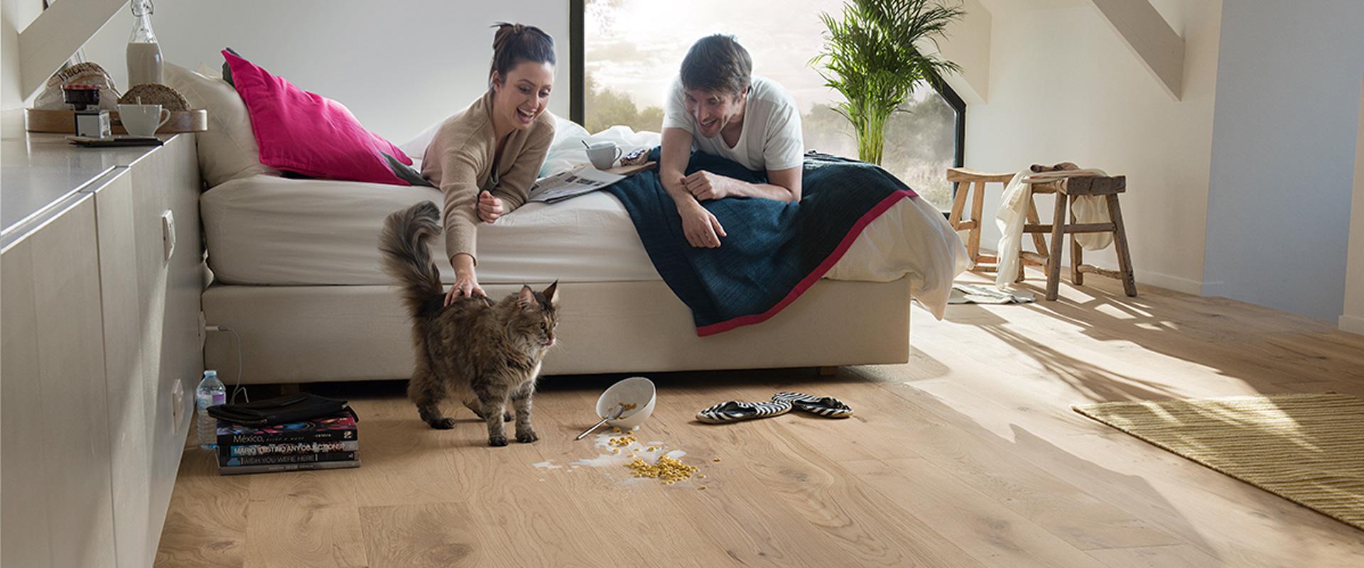 Beste vloer met huisdieren