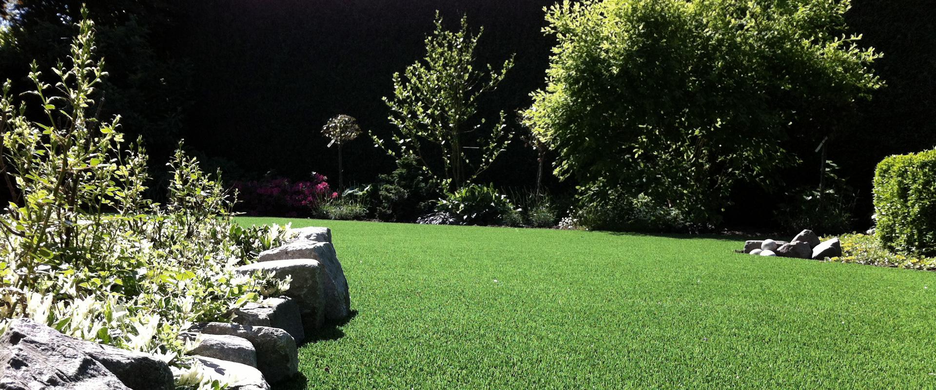Kunstgras landscaping
