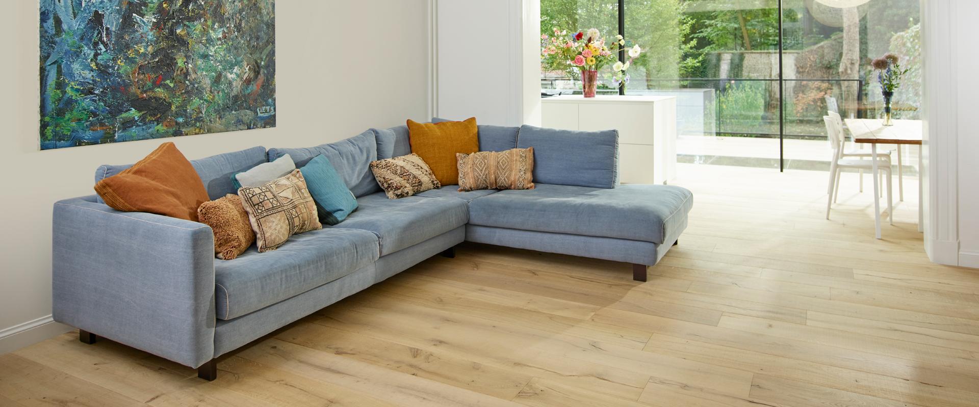 Vloeren in combinatie met vloerverwarming
