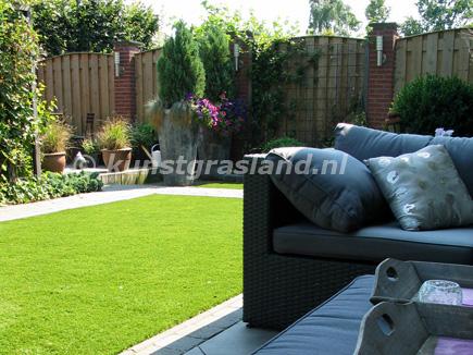 tuin met happy gras solid